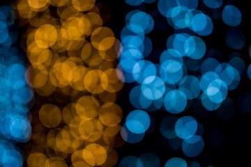 Bokeh circle, beautiful abstract colors for Christmas background - pictures