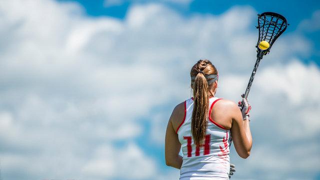 lacrosse woman
