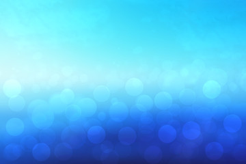 Abstract ocean background. Abstract bright tropical ocean with sun and blue cloudy sky. Backdrop for summer holidays and travel advertising.
