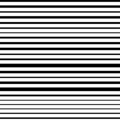 Black and white horizontal stripes abstract background