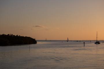 Sunset in Islamorada, The Keys