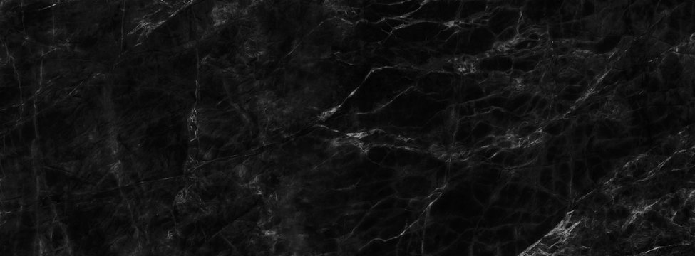 Black marble background pattern floor stone tile slab nature, Abstract material wall
