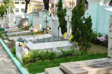 マカオの墓地
