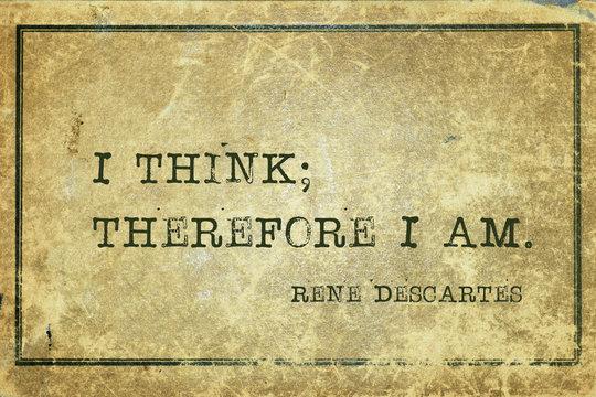 I think Descartes
