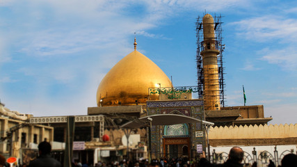 Holy Shrine of Imam Ali Un Naqi