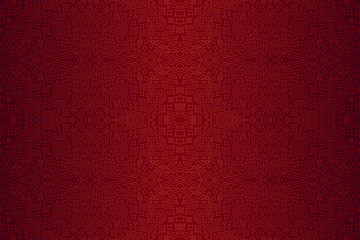 Red background with linear starry pattern