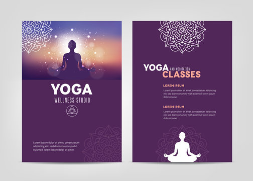 Wellness Studio Brochure Template