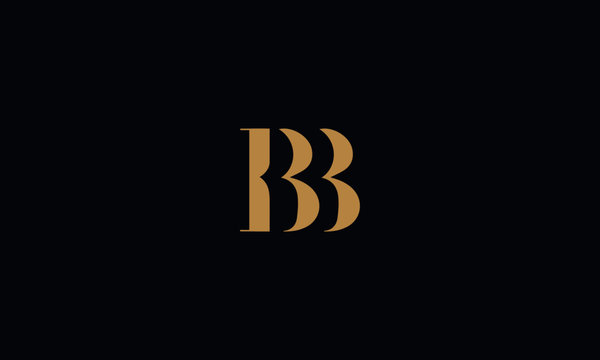 BB logo design template vector illustration