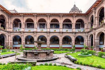 Tempel and Convento de la Merced Cusco, Peru.
