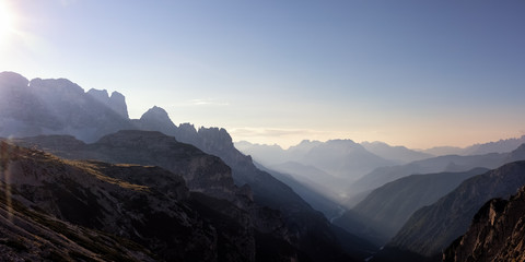 Looking South-East from the Three Peaks, Dolomite Alps, South Tyrol, Italy, xxl+more: bartussek.xmstore