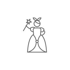 Wonderland, adventure icon. Element of adventure icon. Thin line icon for website design and development, app development. Premium icon