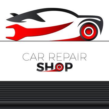 Sportauto - Autowerkstatt - logo design