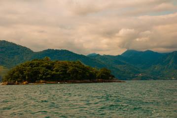Angra dos Reis, Rio de Janeiro State, Brazil Cataguas: Beautiful tropical Islands in Sunny weather