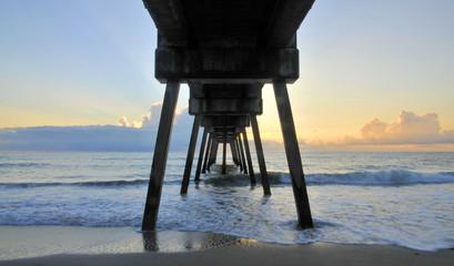 The Vero Beach Pier in Florida