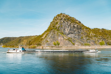 Wall Mural - Loreley Rock in the Rhine Valley, Rheinland-Pfalz, Germany