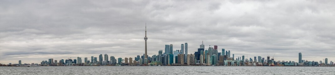 Tuinposter Toronto Toronto Skyline II