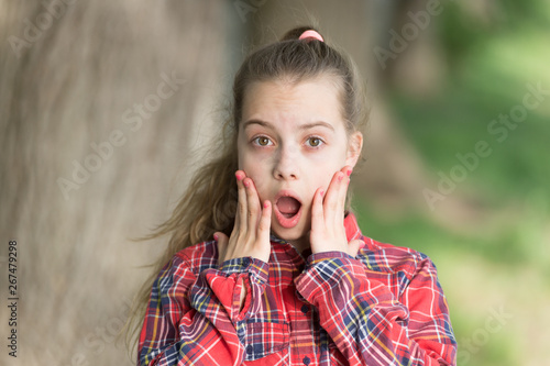 The Surprising News About Childrens >> Wow Shocking News Kid Long Hair Walking Summer Holidays Little