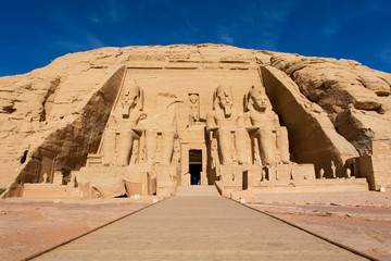 Abu Simbel Egypt entrance temple