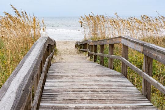 Boardwalk Leading to the Beach