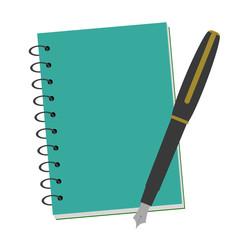 バインダー手帳と万年筆