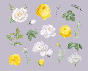Floral design background