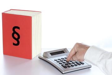 Steuerberechnung mit Gesetzordner