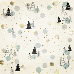 Christmas Vector image Background with  Isolated on Transparent Background