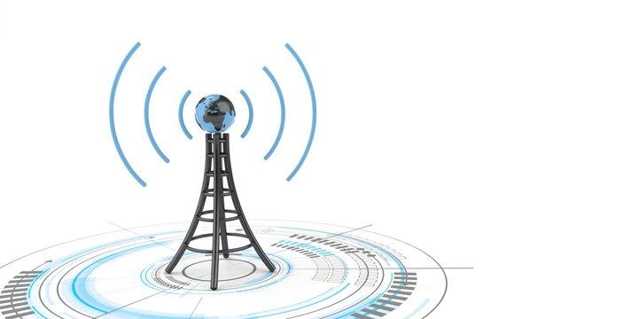 Antenna Globe HUD