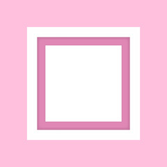 blank picture frame white, framework wooden white on pink pastel background for picture, white frame on pink soft color isolated, blank vintage frame image cute, empty frames picture chic luxury