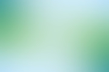 green gradient background / abstract blurry fresh green background Wall mural