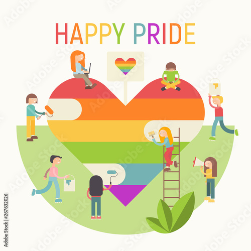 Paras LGBT online dating