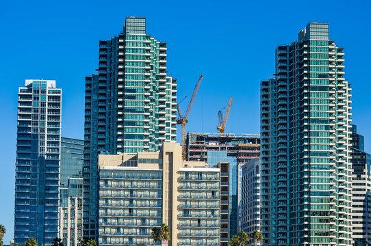 USA, California, San Diego, Skyline