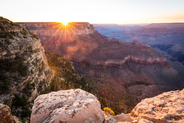 Wall Mural - Grand Canyon National Park at sunset, Arizona, USA