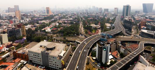 Mexico City panoramic view Papier Peint
