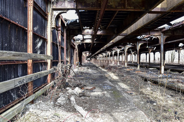 abandoned factory warehouse