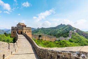 Keuken foto achterwand Chinese Muur The Great Wall of China at Jinshanling
