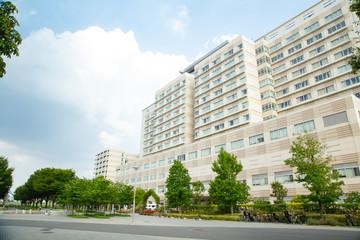 Landscape of Tokyo bay area Ariake