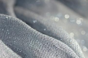 Polyester - Textur - Hintergrund, grau Fototapete
