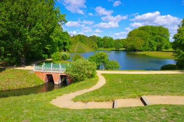 Branitzer Park in der Lausitz - Branitz Park in Lusatia