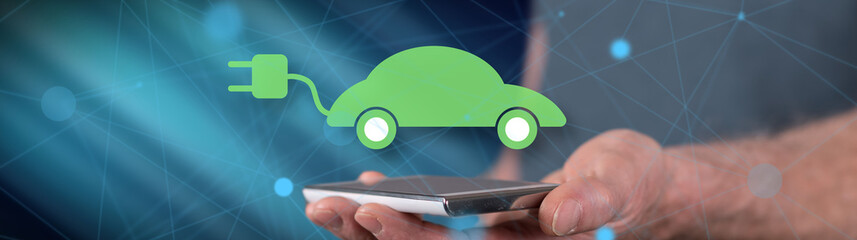 Concept of eco friendly car