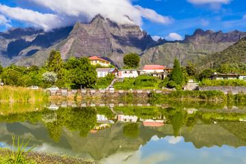 Mare à Cilaos, île de La Réunion