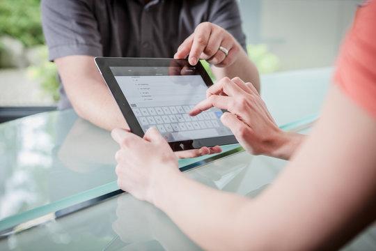 mit Tablet mobil arbeiten