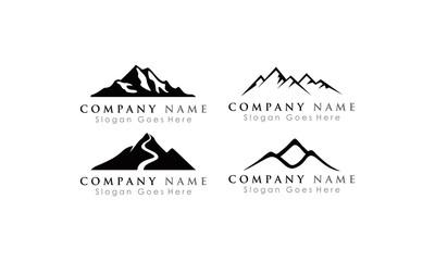 set logo mountain Wall mural