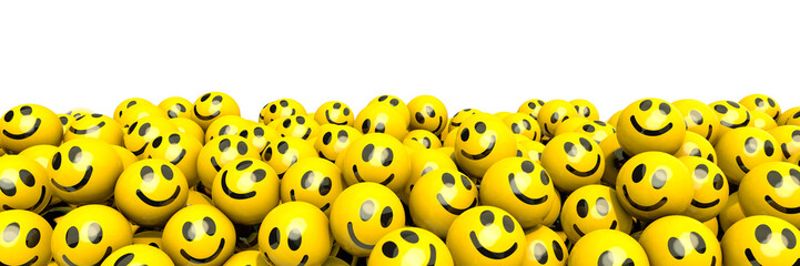 Many laughing smileys