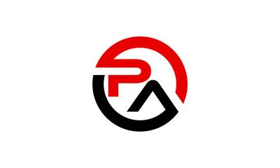 Obraz brand PA logo - fototapety do salonu