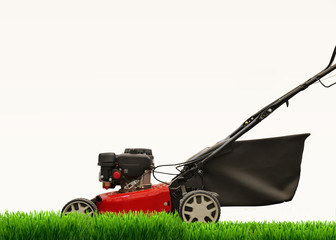 Lawn mower mows