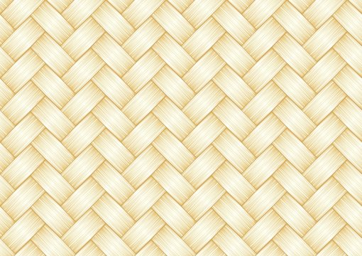 Straw weave background. Seamless pattertn.