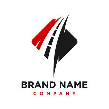 road logo design