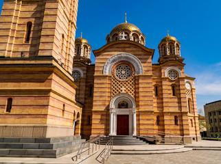 Die Orthodoxe Kathedrale vom Christ dem Erlöser in Banja Luka, Bosnien und Herzegovina