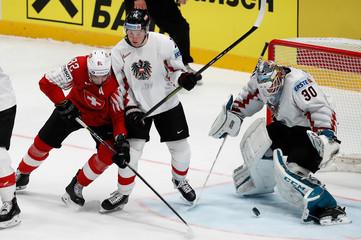 Ice Hockey World Championships - Group B - Switzerland v Austria